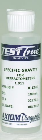 Refractometer Specific Gravity Control 1.011 (100 mL) -